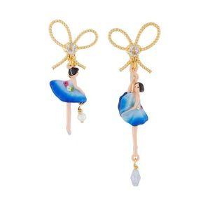 Les Néréides Paris blue ballerina earrings